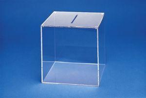 Losbox GROSS aus Acryl , Ausführung mit oder ohne Schloß
