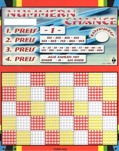 Knobel-Stechspiel 1000 mit Spielplan Nr. 08